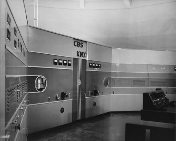 Inside of radio station