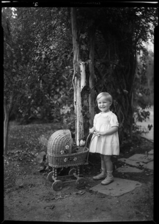 Children, Mrs. Lawrence Block, 618 North Maple Drive, Beverly Hills, CA, 1931