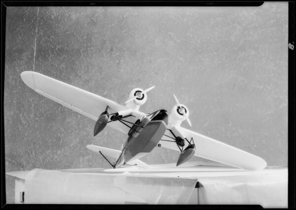 Model of amphibian, Southern California, 1929