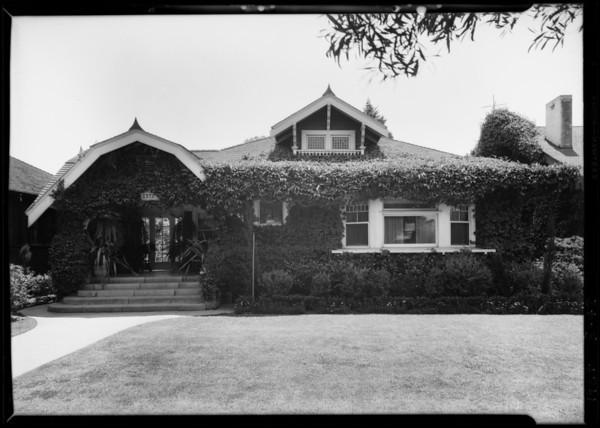 2372 West 23rd Street, Los Angeles, CA, 1927