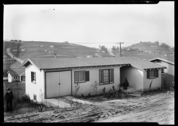 Houses at City Terrace for Leimert, City Terrace, CA, 1927