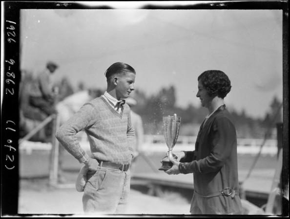 Riverside fair shots, Riverside, CA, 1926