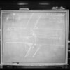 Blackboard in Hall of Justice, department 12 - Judge Amhose, Southern California, 1930