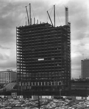 Union Bank Square Building under construction