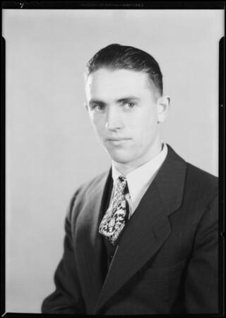 Mr. T.B. Barten, former student, National Automotive School, Southern California, 1930
