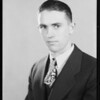 Mr. T.B. Barten, former student, National Automotive School, Southern California, 1930