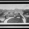 Framed picture at George A. Bray Co., Southern California, 1926