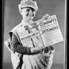 New ad sheet, May Co., Southern California, 1931