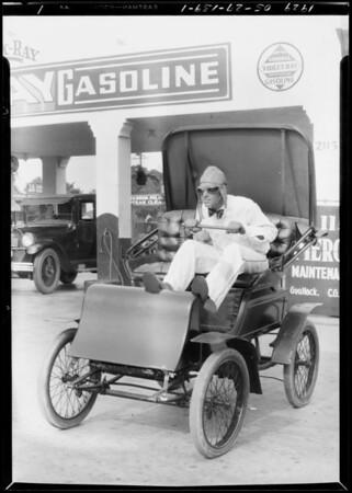 1900 Pierce-Arrow, 2nd car in California, Southern California, 1929