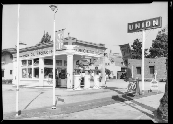 Service stations, Union Oil Co., Southern California, 1932
