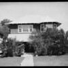 Hammond's own home, 1755 23rd Street, Southern California, 1926