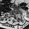 The Louisiana float in the American Legion Parade