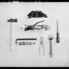 Tools as Christmas specials, National Automotive School, Southern California, 1930