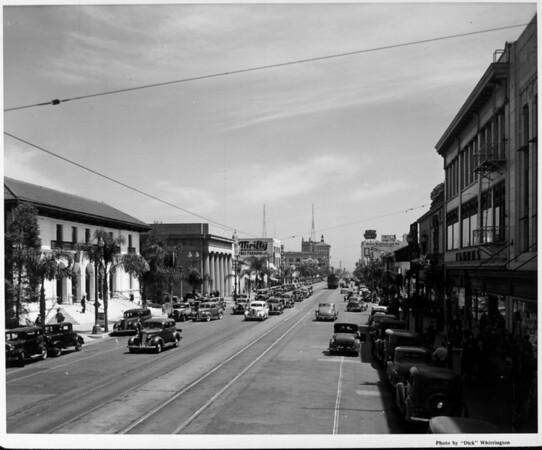 A view looking along Colorado Boulevard