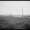 Auto travel past Pico Boulevard, Southern California, 1927