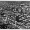 Aerial view facing northwest over Wilshire Boulevard and Hauser Boulevard