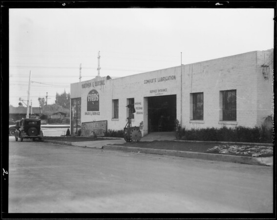 Martinsen & Burchill, 5087 Huntington Drive, Los Angeles, CA, 1932