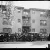 Crowd at 6358 Yucca Street, Los Angeles, CA, 1926