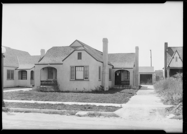 7320 Bagley Avenue, Southern California, 1926
