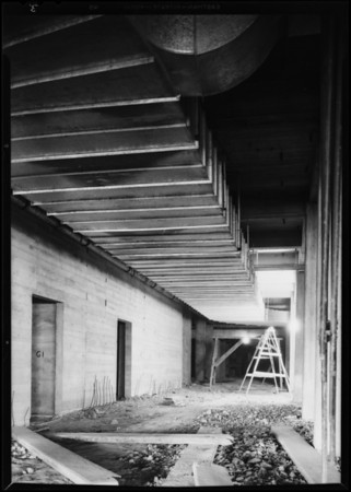 Installations at County Hosptial, Los Angeles, CA, 1930