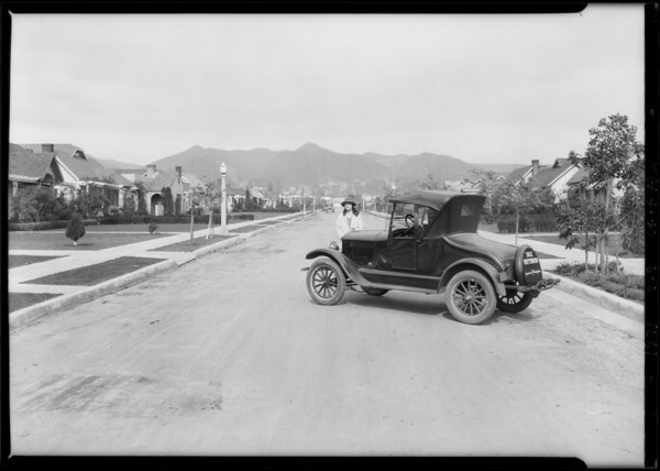 Union Auto Insurance Co., Southern California, 1926