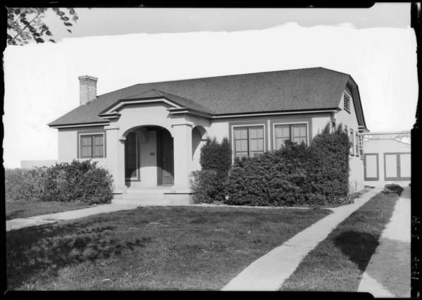 942 North Genesee Avenue, West Hollywood, CA, 1927
