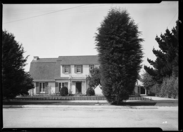 Churches, Farol Pethbone house, Southern California, 1926