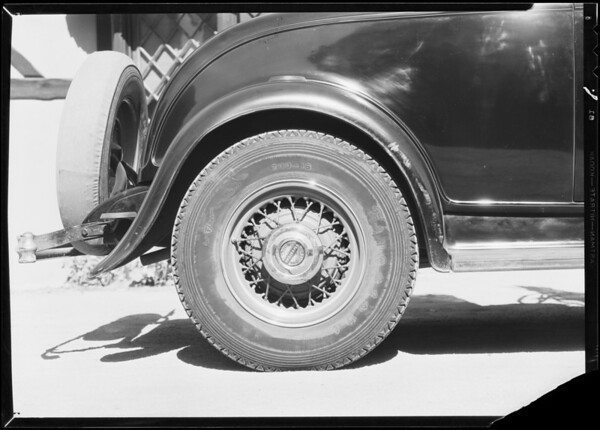 Ford Roadster, H.L. Hoffman assured, Southern California, 1932