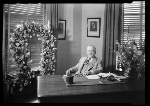 Will O. Feyuson Agency, room 630 Associated Realty building, Southern California, 1930