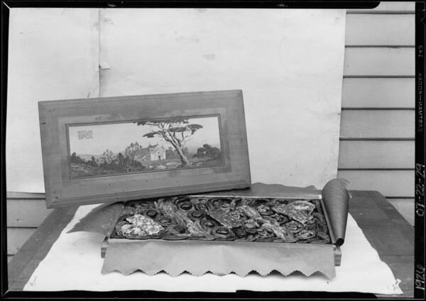 Box of candy, J. W. Robinson Co., Southern California, 1926