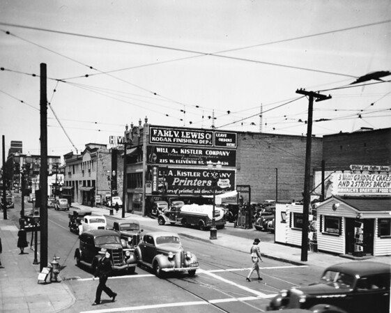 White Log Coffee Shop, Earl V. Lewis Company, Will A. Kistler Company