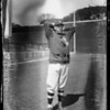 Los Angeles baseball players at Los Angeles Creamery, Southern California, 1927