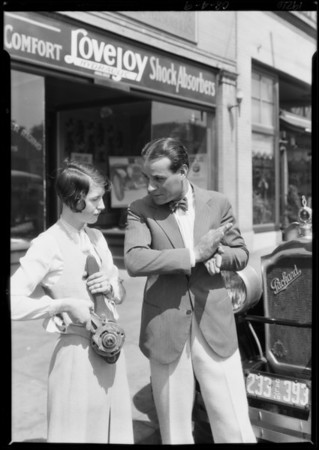 Martin Shocks at 1731 North Highland Avenue, Los Angeles, CA, 1926