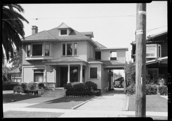 2817 Orchard Avenue, Los Angeles, CA, 1926