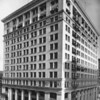 Northeast corner view of the City Bank Building, between Sixth Street and Spring Street