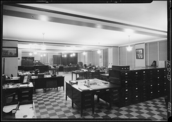 Office of Board of Trade, Southern California, 1926