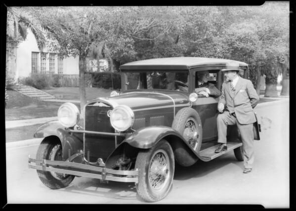 New Kissel car, Southern California, 1928
