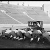 "Chevrolet at Coliseum & ""All Star"" football team, Los Angeles, CA, 1926"