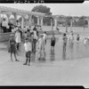 Bathing pool, Exposition Park, Los Angeles, CA, 1924