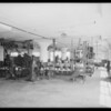 Interior of plant, Los Angeles, CA, 1931