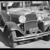 Dodge car, Veiga, assured, Southern California, 1929