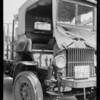 Los Angeles Creamery truck, Union Auto Insurance Co., Southern California, 1926