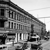 Photo taken at the corner of Second Street and Main Street in downtown Los Angeles, facing east on Second Street