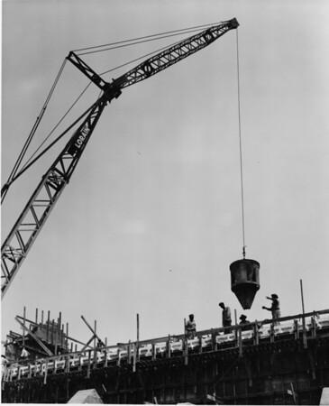 Building under construction, Lorain Crane Company