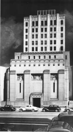 The Los Angeles Stock Exchange Building on Spring Street