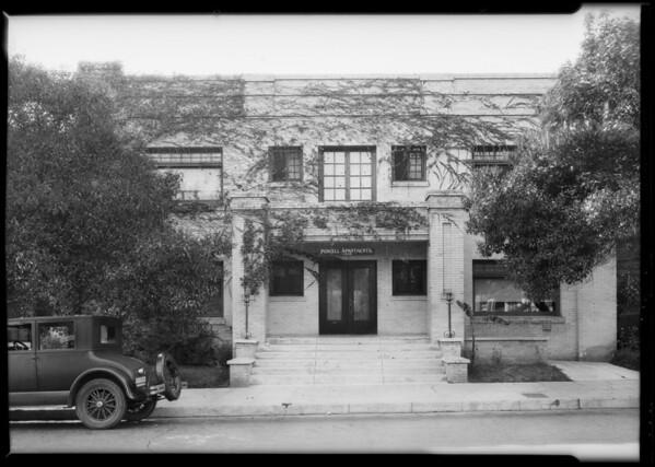 1419 Malvern Avenue, Los Angeles, CA, 1926