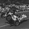 American Legion parade, Long Beach, stunt car from post 312, Lawrenceburg, Indiana
