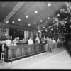 Lunch counter, land show, Southern California, 1930