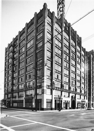 The Bendix Building at the corner of Twelfth Street and Maple Avenue, facing northwest