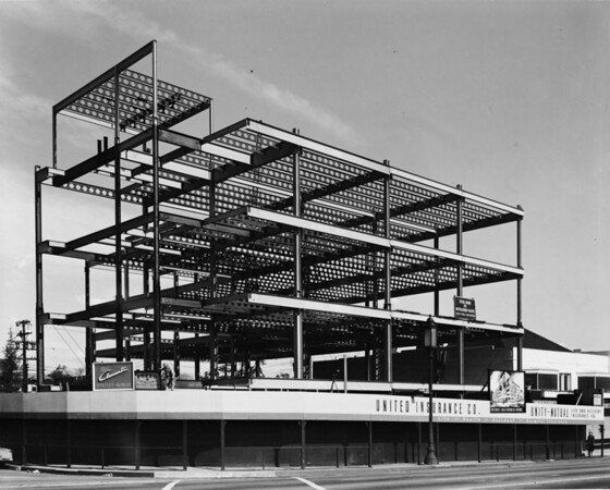 United Insurance Company building under construction